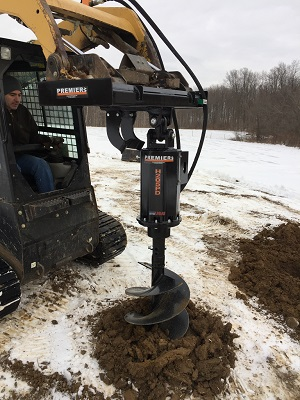 Premier Two-Speed Earth Auger System