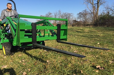 Premier Compact Tractor Pallet Fork Attachment