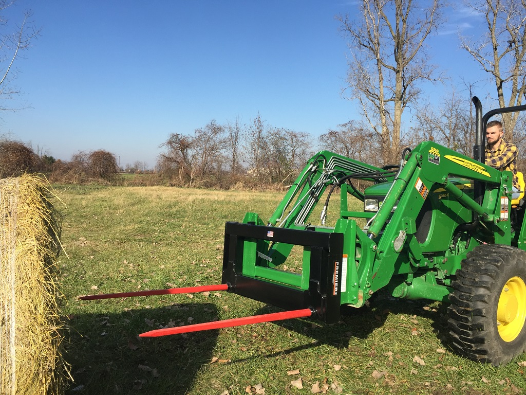 Tractor Loader Bale Spears | Premier