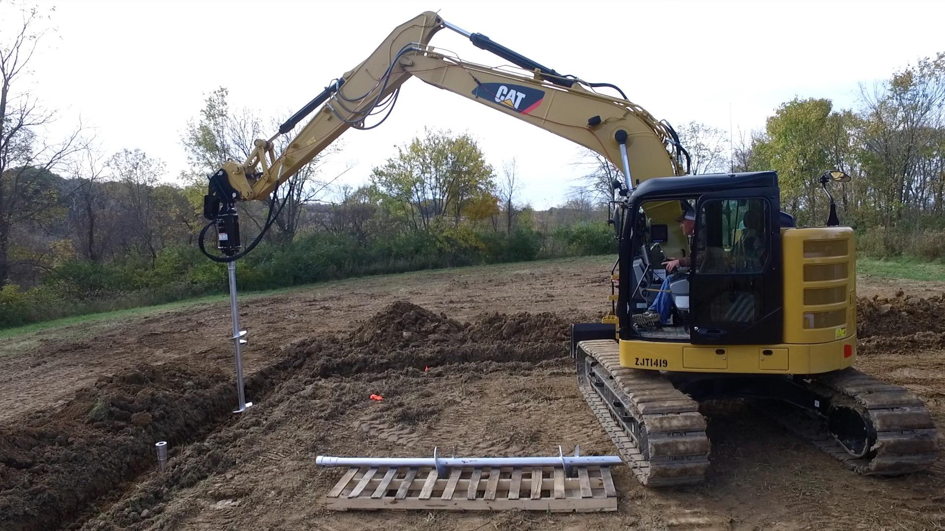 Mini Excavator Attachments & Accessories | Premier Auger