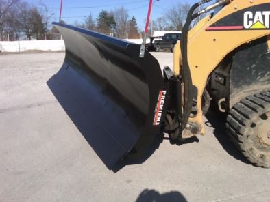 Skid Steer Loader Snow Plows