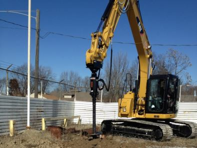 Excavator Earth Auger Drive Units