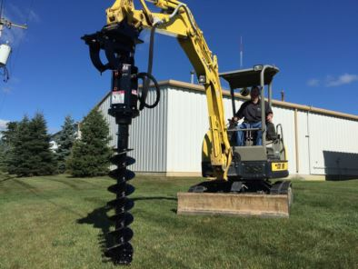 Mini Excavator Earth Auger Drive Units