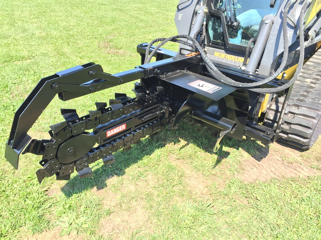 how to change case skid steer attachments