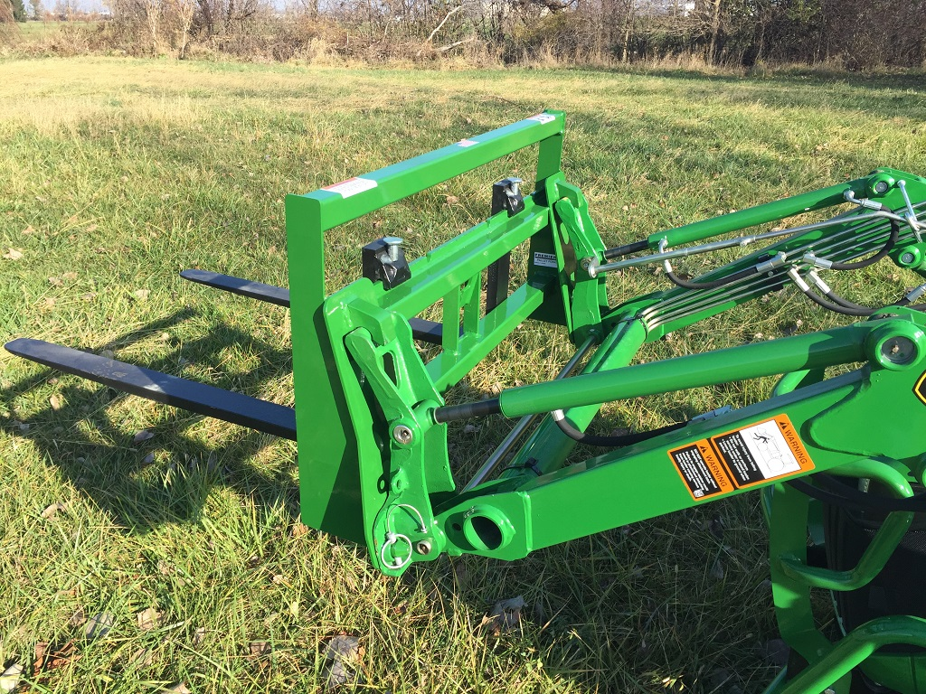 Backhoe Attachments Fork : Compact tractor pallet forks premier