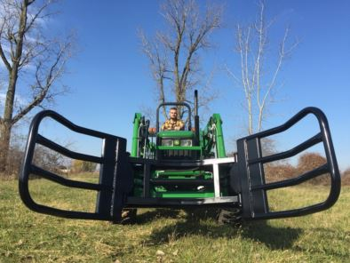 Tractor Loader Round Bale Grabbers