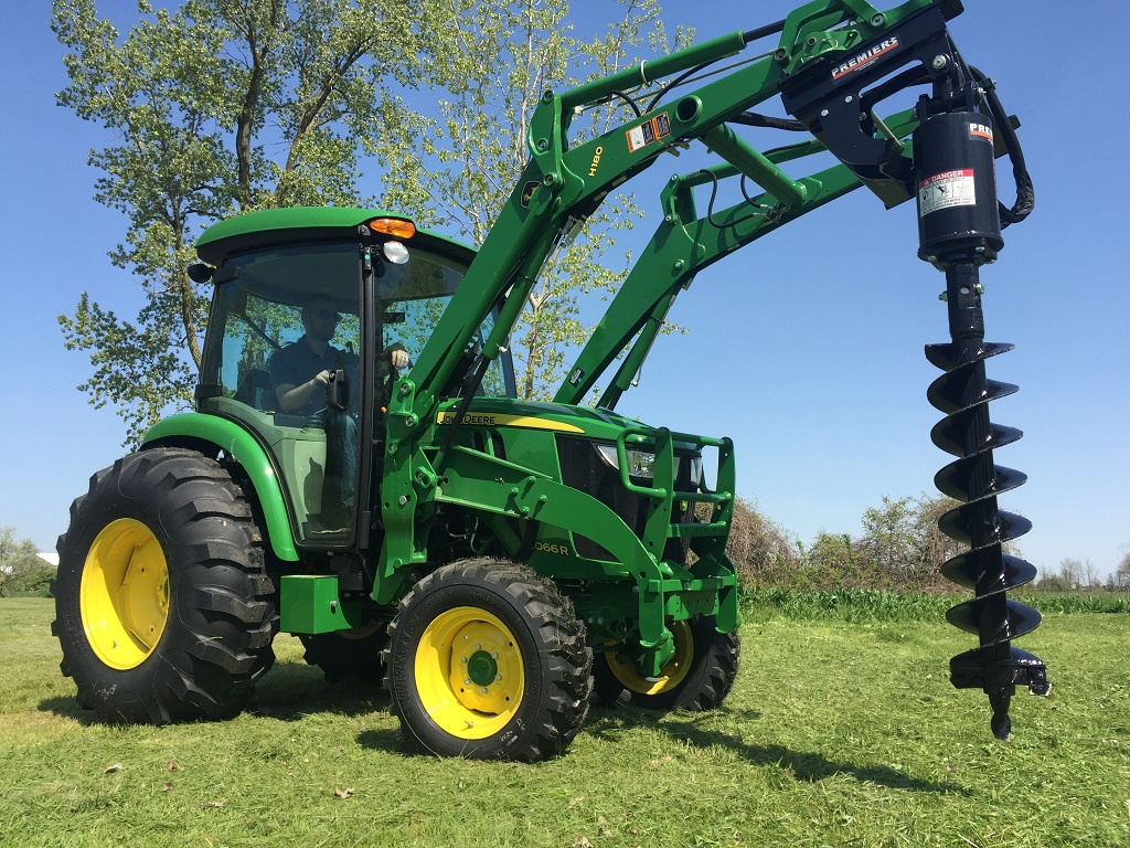 How To Build An Affordable Home Tractor Earth Auger Systems Premier Auger