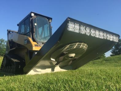 Premier Auger Skid Steer Loader Ammbusher Brush Cutter