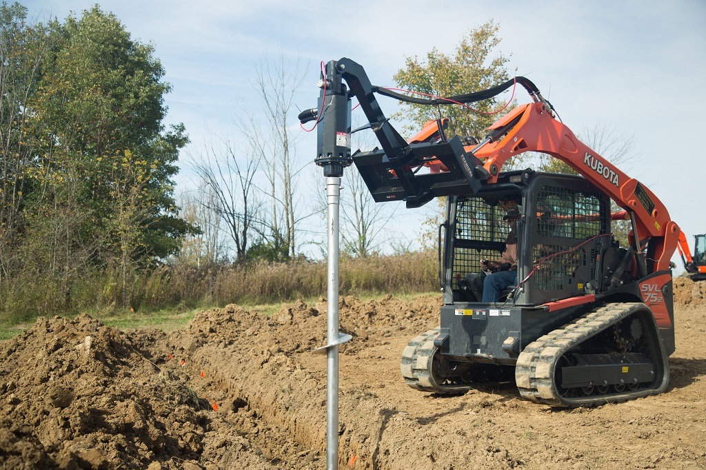 Single Speed Earth Anchor Drive Units | Premier Auger
