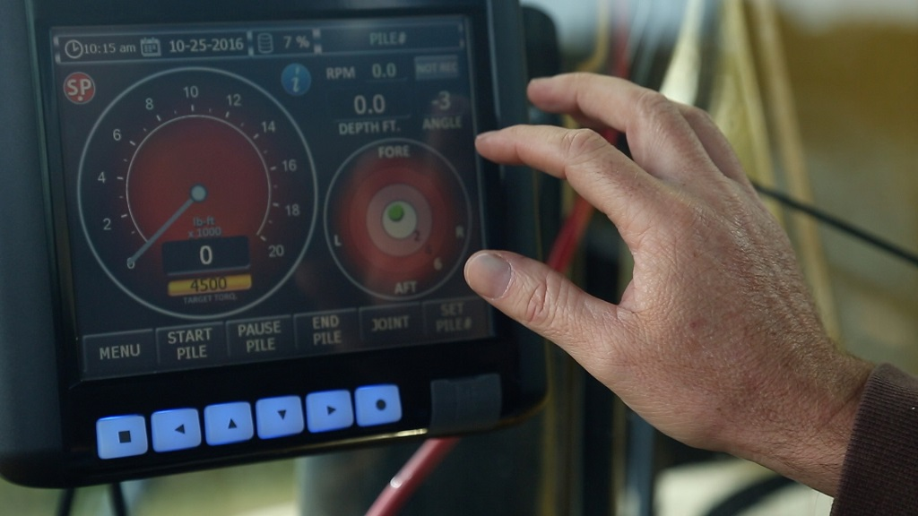 Earth Monitoring System : Power pin torque monitoring system premier auger