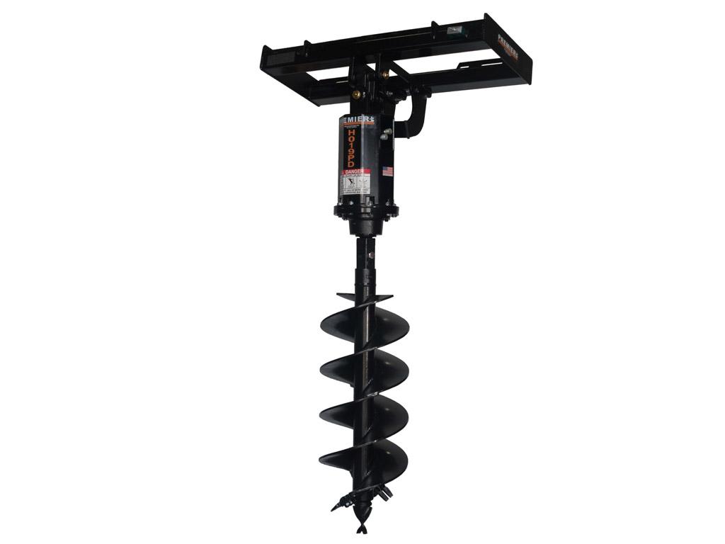skid steer earth auger systems premier auger. Black Bedroom Furniture Sets. Home Design Ideas